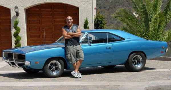 Bill Goldberg Unveils Car Collection 1