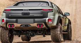 Calmest Military Vehicle Chevrolet Chevy Colorado ZH2 1