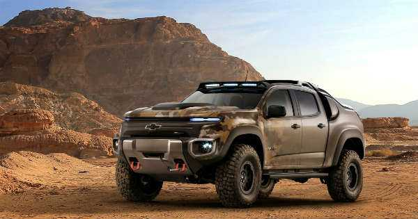 Calmest Military Vehicle Chevrolet Chevy Colorado ZH2 2
