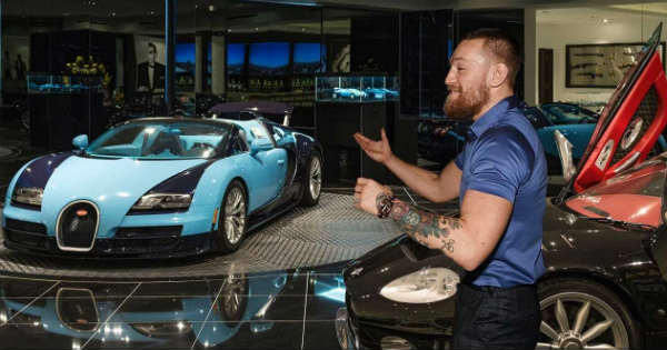 Conor Mcgregor Shows Off His Car Collection Muscle Cars Zone