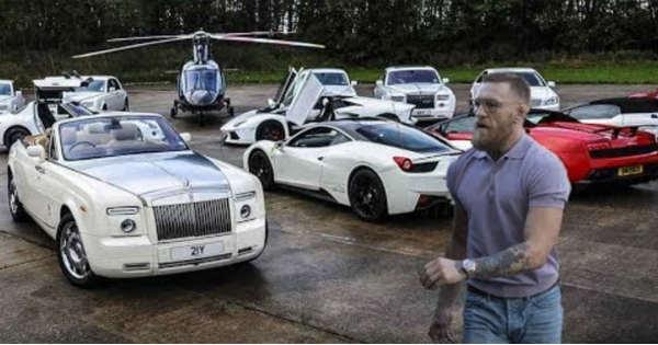 Conor McGregor Shows Off His Entire CAR COLLECTION 2
