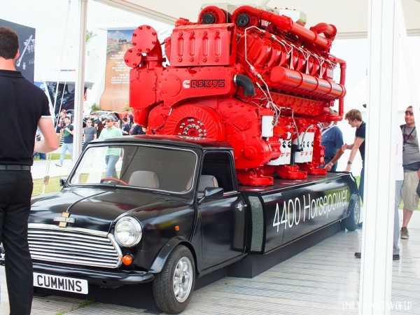 Cummins Mini truck comeback goodwood festival 4400 hp 4