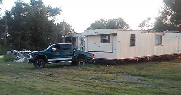 DIY House Moving Redneck 2