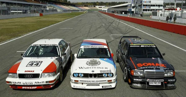DTM GOLDEN ERA Audi V Quattro Vs BMW M Vs Mercedes - Audi vs bmw