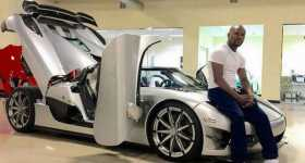 Floyd Maywather Koenigsegg CCXR Trevita auction sale million 2