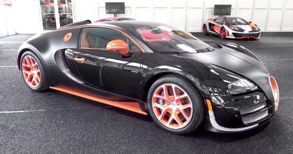 Floyd Mayweather BUGATTI Veyron 4