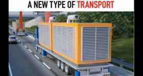Future CARGO Transportation New Type of Transport 2