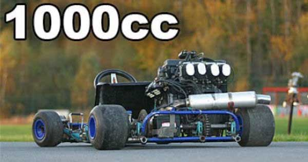 These Go Karts Get Crazy Engine Swap Muscle Cars Zone
