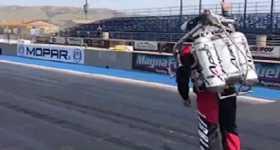Jetpack Race vs car 4
