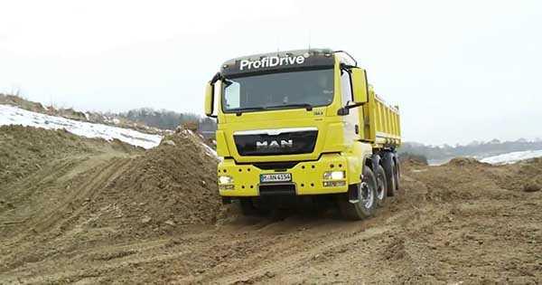 MAN Offroad Truck Technology 1