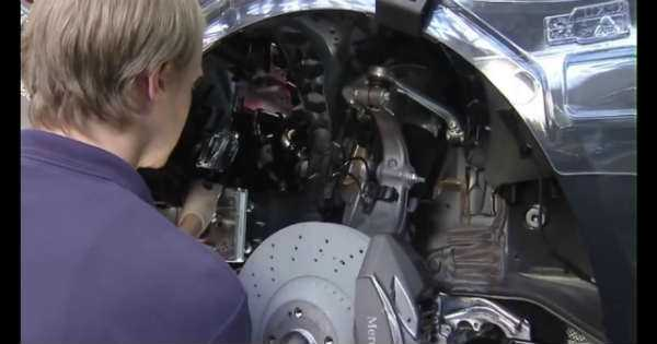 Mercedes Benz S Class process creation made factory 3