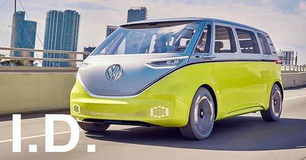 New 2018 Volkswagen Electric Campervan 2