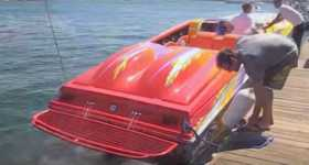 Outerlimits Powerboat 2600 HP powerful boat jet 1