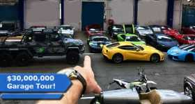 POV Walkthrough inside most expensive garage cars 4