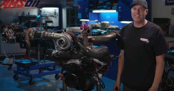 Powerstroke Turbo Stock 5.0 Engine 2