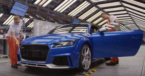 Production Process of 2017 Audi TT RS 1