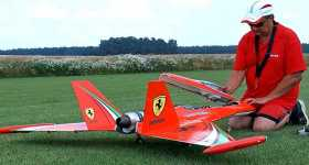 RC Turbine Jet Looks Very Realistic 1