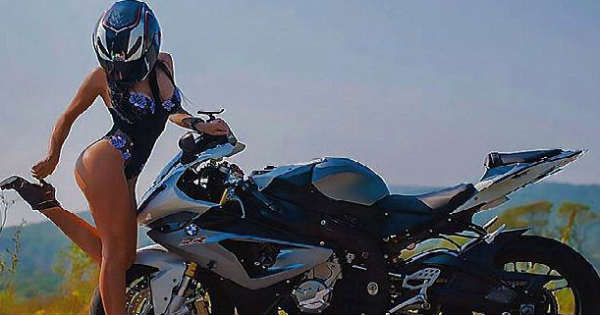 Russian Stunt Lady Known as The Sexiest Motorcyclist Dies 2