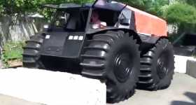 SHERP ATV Vehicle Made in Russia 4