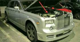 Swapping 2JZ Engine Into A ROLLS ROYCE 1