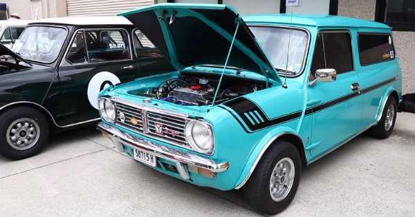 VTEC Mini Visits Classic Car Meet Cooper 2