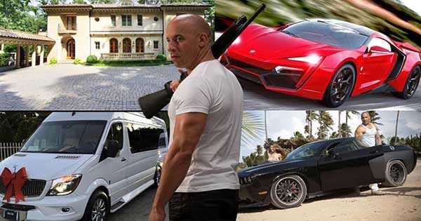 Vin Diesel Amazing Car Collection 2