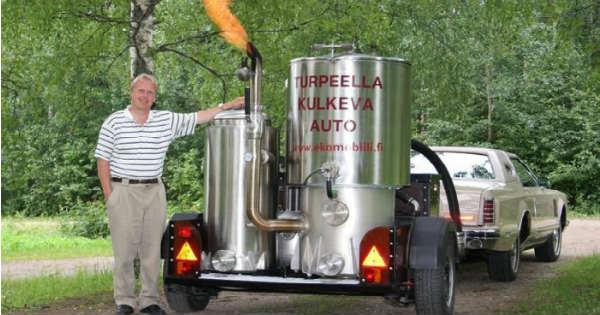 Wood Gas Vehicles 1
