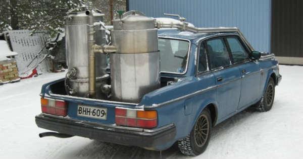 Wood Gas Vehicles 6
