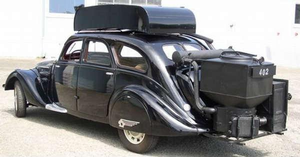 Wood Gas Vehicles 8
