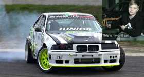 12 Years Old Boy BMW M3 Drift Car 12