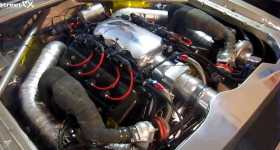 2000HP Koenigsegg V8 Engine In A Ford Granada 2