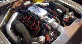 2000HP Koenigsegg V8 Engine In A Ford Granada 2