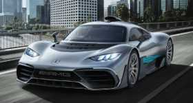 2017 Mercedes-Benz AMG Project ONE Concept Futuristic Photos 1