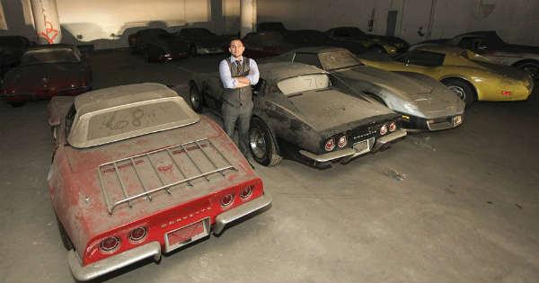 36 CLASSIC CORVETTES Found in a Garage 1