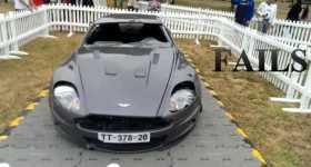 Aston Martin Fail Compilation cars 1