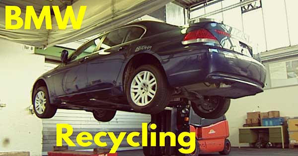 BMW Recycling Plant 1