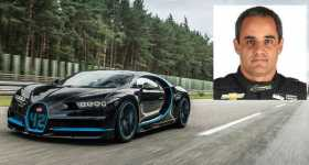 Bugatti Chiron Juan Pablo Montoya Set A WORLD RECORD 0-400-0 KMH 11
