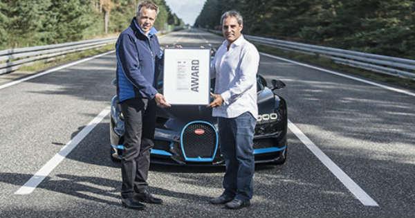 Bugatti Chiron Juan Pablo Montoya Set A WORLD RECORD 0-400-0 KMH 2