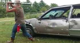 Car Fights Back Karma Bat 11