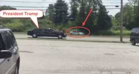 Car With Brake Failure That Nearly Entered The TRUMP's Motorcade 1