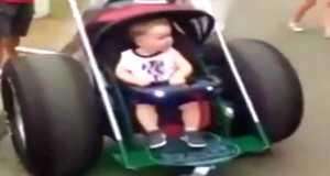 Crazy Baby Stroller 4