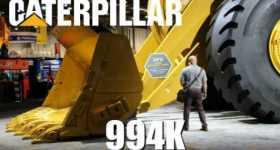 Crazy Numbers Biggest Wheel Loader Caterpillar Statistics 2