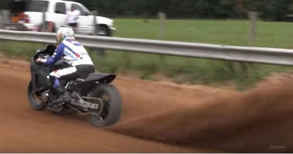 Crazy Suzuki Hayabusa Dirt Bike 2