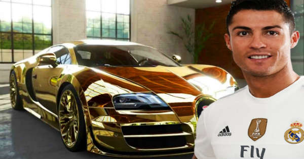 Cristiano Ronaldo Car Collection! It Looks Absolutely ...