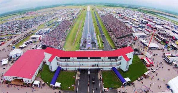 Flooded Vehicles Harvey Royal Purple Raceway 2