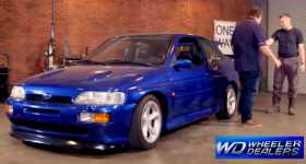 Ford Escort RS Cosworth At The Premiere of Wheeler Dealers on October 4th 1