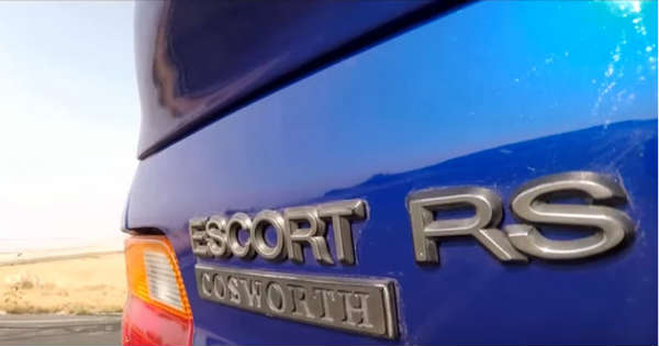 Ford Escort RS Cosworth At The Premiere of Wheeler Dealers on October 4th 2