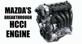 HCCI SkyAktiv-X Mazda Engine 1