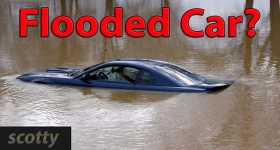 How To Save A Shortly FLOODED Car 1