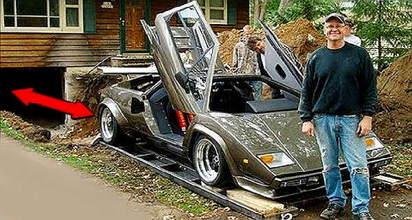 It Took Him 17 Years U0026 He Build His Own Lamborghini Countach!   Muscle Cars  Zone!